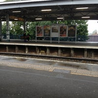 Photo taken at Epsom Railway Station (EPS) by Sj H. on 9/9/2013