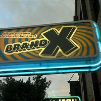 Photo taken at Brand X Custom T-Shirts by James K. on 10/12/2012