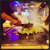 Photo taken at Kobe Ninja House Japanese Grill by James B. on 6/24/2013