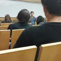 Photo taken at Johns Hopkins University Gilman Hall by Da Z. on 10/21/2013