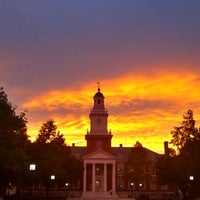 Photo taken at Johns Hopkins University Gilman Hall by Da Z. on 10/7/2013