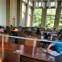 Photo taken at Brody Learning Commons Quiet Reading Room by Da Z. on 6/2/2014
