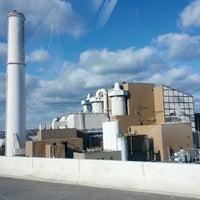 Photo taken at Baltimore BRESCO Smokestack / Wheelabrator Incinerator by Vegan E. on 12/30/2012