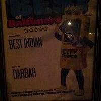 Photo taken at Darbar by Vegan E. on 12/22/2012