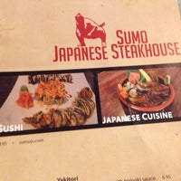Photo taken at Sumo Japanese Steakhouse by Eduardo A. on 10/18/2014