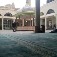 Photo taken at Grand Husseini Mosque by Kusyt L. on 11/12/2012