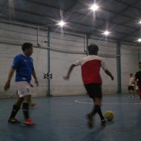 Photo taken at IFI Futsal Center by Rizki Afif F. on 5/15/2013
