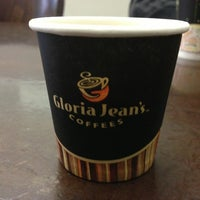 Photo taken at Gloria Jean's Coffees by Chuck H. on 1/27/2013