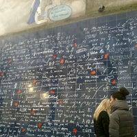 """Photo prise au Le Mur des """"Je t'aime"""" par Fany A. le2/16/2013"""