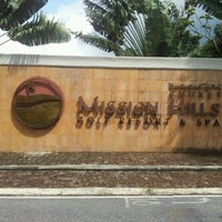Photo taken at Mission Hills Phuket Golf Resort And Spa by Songsak S. on 10/13/2012