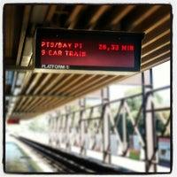 Photo taken at Rockridge BART Station by Richard C. on 10/8/2012