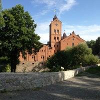 Photo taken at Замок Радомиcль / Radomysl Castle by Tanya K. on 6/18/2013