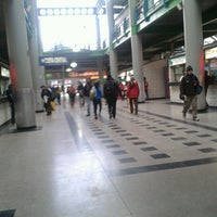 Photo taken at Terminal de Buses Santiago by Lucas S. on 7/3/2013