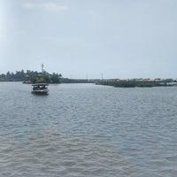 Photo taken at Poovar Island Resort by Sampath K I. on 3/7/2014