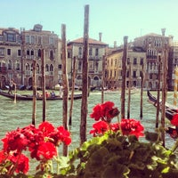 Photo taken at The Gritti Palace, Venice by Andrey V. on 8/5/2013