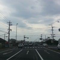 Photo taken at 錦六区入口交差点 by 世界のGORO on 3/25/2014
