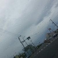 Photo taken at 錦六区入口交差点 by 世界のGORO on 6/3/2014