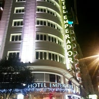 Photo taken at Hotel Emperador Madrid by J on 12/12/2012