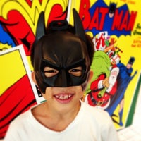 Photo taken at DC Comics Super Heroes by Jackie L. on 1/4/2014