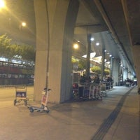 Photo taken at Airport (Ground Transportation Centre) Bus Terminus by Nicholas H. on 12/6/2012