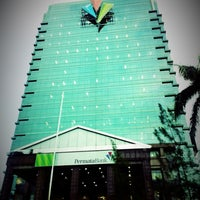 Photo taken at PermataBank Tower III by Al G. on 8/30/2014