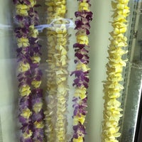 Photo taken at Cindy's Lei & Flower Shoppe by susieschmoozee on 9/26/2014