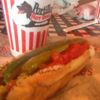 Photo taken at Portillo's by Tim C. on 2/28/2014