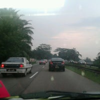 Photo taken at Plaza Tol Kulaijaya by Qeqen A. on 9/17/2012