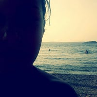 Photo taken at Havuzlu Plaj by Sirbulanka on 7/31/2013