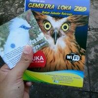 Photo taken at Kebun Binatang Gembira Loka by junita p. on 12/25/2012