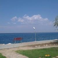Photo taken at Edremit Askeriye Kampı by Senem K. on 9/6/2014