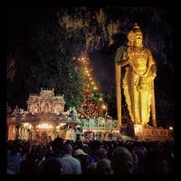 Photo taken at Sri Subramaniar Temple Batu Caves by Puvanan N. on 1/26/2013