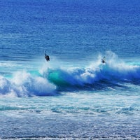 Photo taken at Suluban Beach by Kristian J. on 6/28/2013