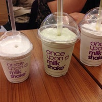 Photo taken at once upon a milkshake by Sang-hee S. on 10/27/2013