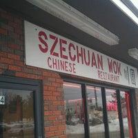 Photo taken at Szechuan wok by Aron on 2/19/2013