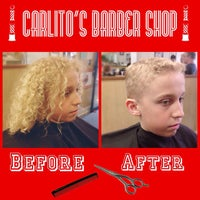 Photo taken at Carlito's Barber Shop by Carlos B. on 6/12/2015