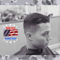 Photo taken at Carlito's Barber Shop by Carlos B. on 5/24/2015