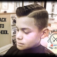 Photo taken at Carlito's Barber Shop by Carlos B. on 9/7/2015