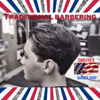 Photo taken at Carlito's Barber Shop by Carlos B. on 7/6/2015