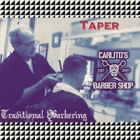 Photo taken at Carlito's Barber Shop by Carlos B. on 6/16/2015