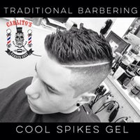 Photo taken at Carlito's Barber Shop by Carlos B. on 5/13/2015
