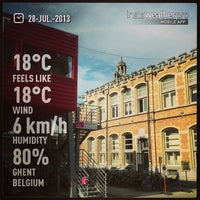 Photo taken at Tram 4 | Gent UZ > Gentbrugge Moscou by Jeroen C. on 7/28/2013