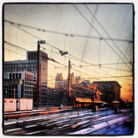 Photo taken at Brussels-South Railway Station (ZYR) by Jeroen C. on 1/16/2013