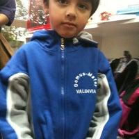 Photo taken at Colegio Domus Mater by Kerthy on 3/5/2013