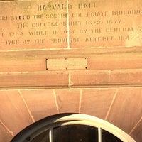 Photo taken at Harvard Hall by Ellen on 11/9/2012