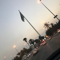 Photo taken at Jeddah Flagpole by Mahmoud J. on 10/31/2016