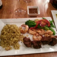 Photo taken at Twin Owls Steakhouse by Hannah B. on 1/11/2014
