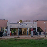 Photo taken at Acilia (Roma-Lido) by Laura V. on 10/29/2012