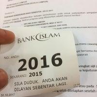 Photo taken at Bank Islam Taman Melawati by Zarif S. on 10/31/2017