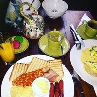 Photo taken at Wonderland Café by isabel Z. on 9/11/2016